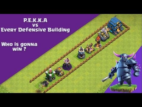 PEKKA Is Strongest Troop ? PEKKA Strength Test | Clash Of Clans