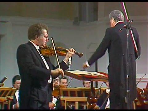 Oleg Kagan plays Beethoven Violin Concerto, op. 61 - video 1978