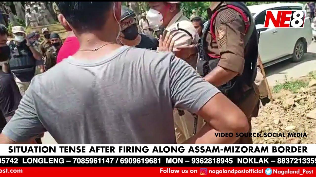 Breaking News: Situation tense after firing along Assam-Mizoram border