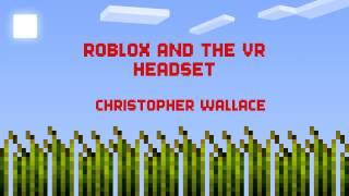 Roblox und das vr Headset!