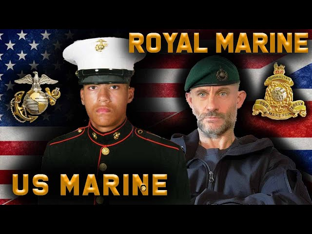 Royal Marine & USMC Veteran React To Each Other's Training | Combat Arms Channel & Chris Thrall