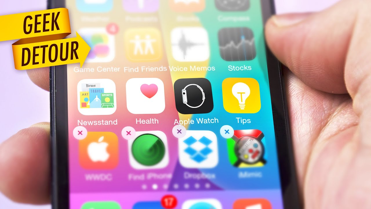 Delete Apple Watch, Newsstand, Stocks Or Tips App On Iphone? You Can't But  You Can Hide Them!