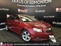 Used Red 2012 Chevrolet Cruze Ltz Walkaround Review Vegreville Alberta