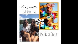 Musical.ly Song Battle Compilation | Lisa and Lena VS MathildeClara
