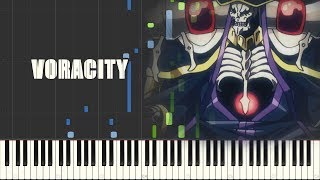 Overlord III Opening - VORACITY (Piano Synthesia)