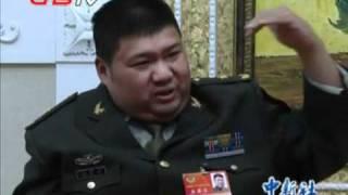 毛新宇:由於我自己的努力 當上了將軍 Mao Zedong's Grandson Mao Xinyu