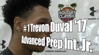 Trevon Duval '17, Advanced Prep Int. Junior at 2015 UA Holiday Classic