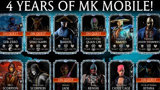 4 Years of Acc๐unt and Playing MK Mobile. Showing my account.