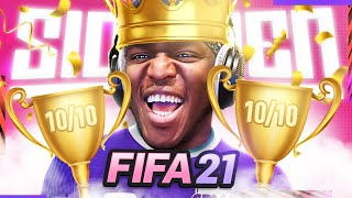KSI PROVES he's the BEST at FIFA
