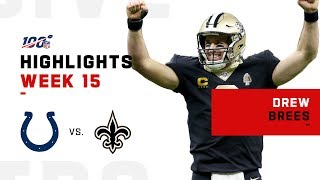Gambar cover Every Pass from Drew Brees' Record Setting Night (29/30) | NFL 2019 Highlights