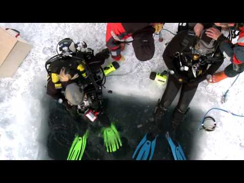 Ice Diving in Antarctica