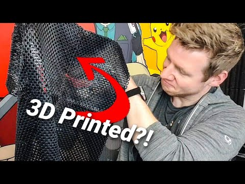 3D Printed Chainmail - IT'S ACTUALLY WORKING???