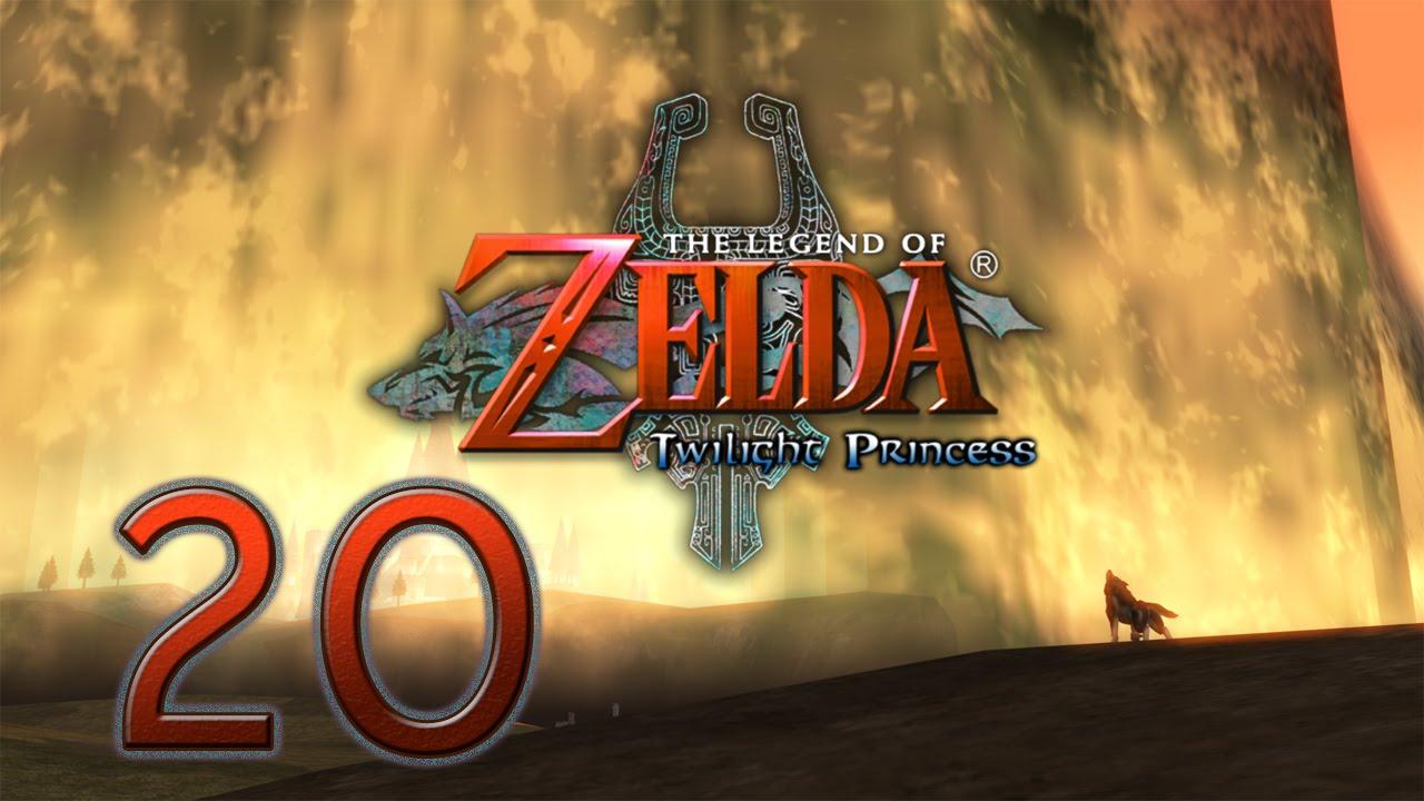Legend Of Zelda Twilight Princess Part 20 The Lakebed Temple