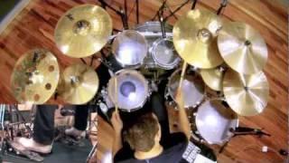 Meshuggah - ObZen Album Medley Drum Cover by Troy Wright