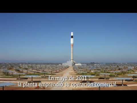 Gemasolar, concentrated solar power plant. A project conected to the Sun