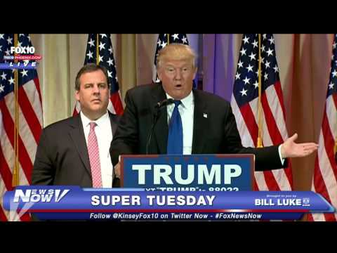 FNN: FULL Trumps Reacts to Super Tuesday Wins