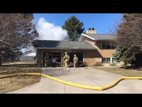 Fire damages home on Arbutus near Shattuck in Saginaw Township