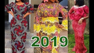 2019 Ankara Fashion Styles Collection of African Dresses for Queen