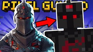 HOW TO MAKE FORTNITE SKINS in Pixel Gun 3D (Legendary Black Knight)