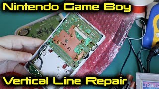 Nintendo Game Boy Vertical Line Repair