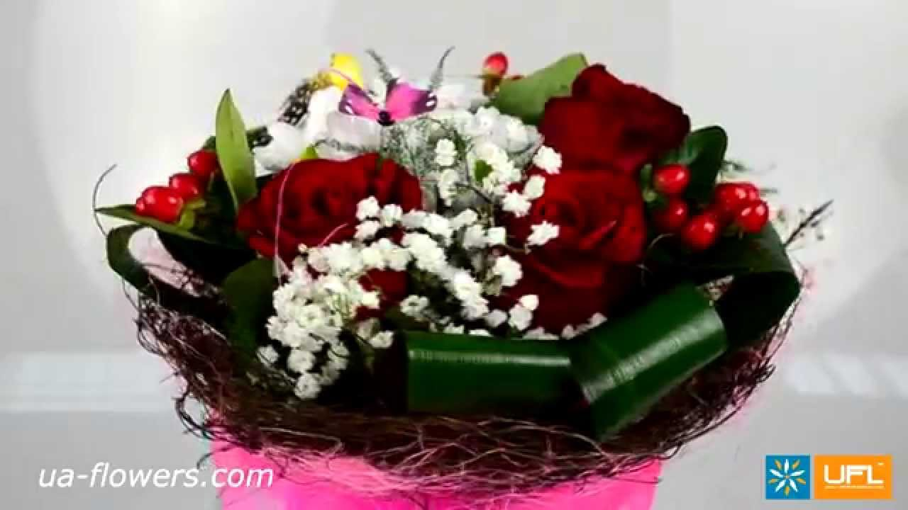 Bouquet for beloved girlfriend - flower delivery Ukraine, Russia and ...