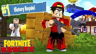 FORTNITE IN ROBLOX - NEW GAME!!