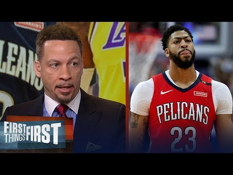 AD should reconsider leaving Pelicans if they draft Zion - Broussard | NBA | FIRST THINGS FIRST
