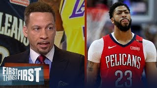 Download AD should reconsider leaving Pelicans if they draft Zion - Broussard | NBA | FIRST THINGS FIRST Mp3 and Videos
