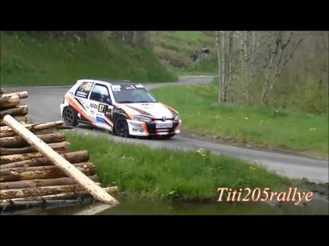 Mini best-of rallye Lyon-Charbonnières 2016 / Buisson - Menestrier / 106 A6