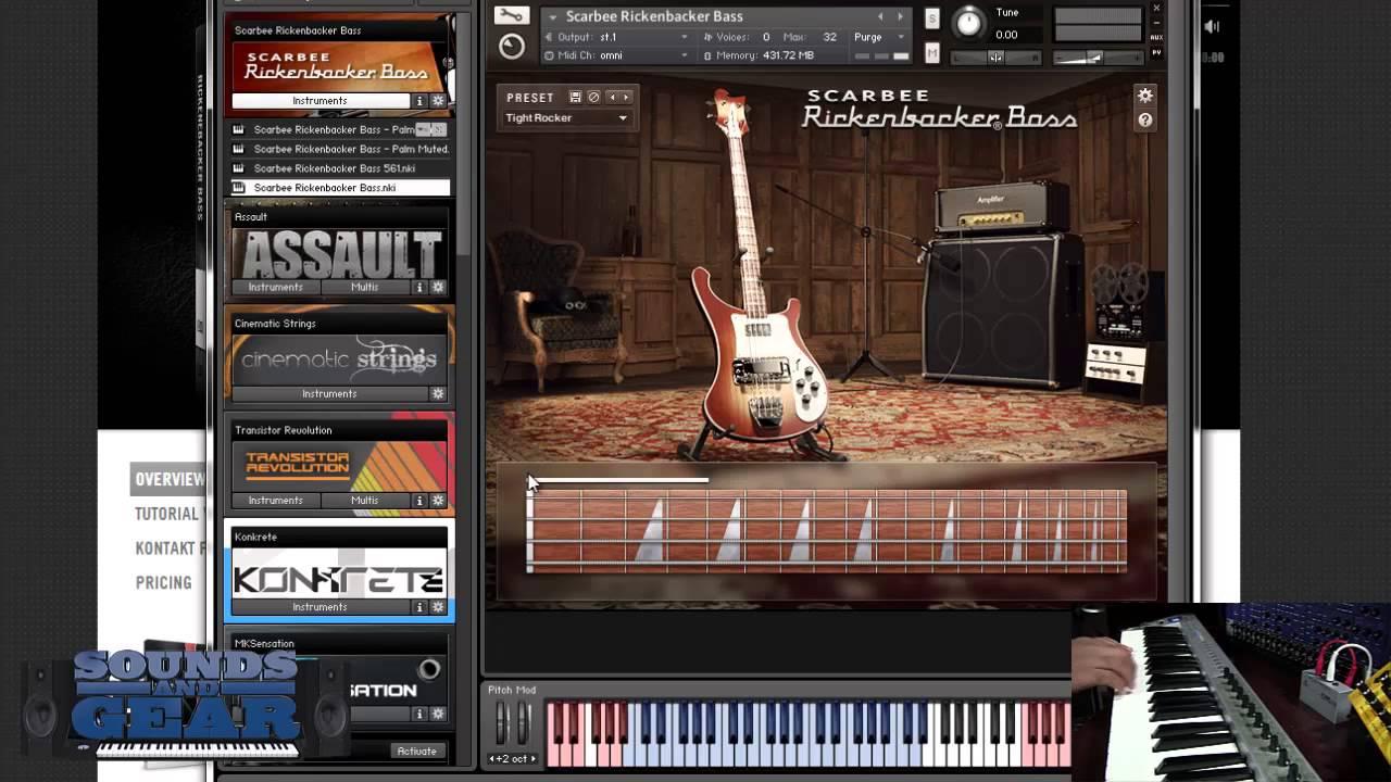 native instruments kontakt guitar library