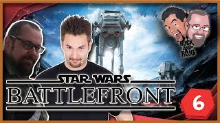 Rock & Rojo w Star Wars: Battlefront | #6 | LASER PARTY | 60FPS GAMEPLAY