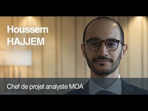 Portrait collaborateur à Crédit Agricole CIB : Houssem est chef de projet analyste MOA