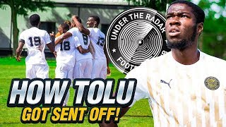 HOW TOLU GOT SENT OFF: UTR vs Palmers FC