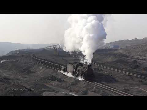 Sandaoling  - China last steam trains / January 2018