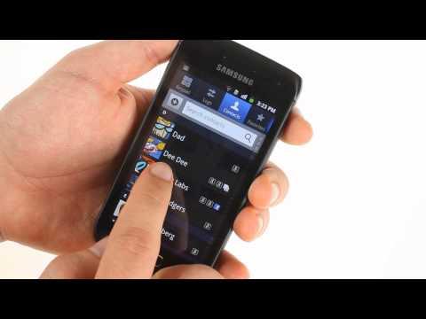 Samsung Galaxy W I8150 unboxing