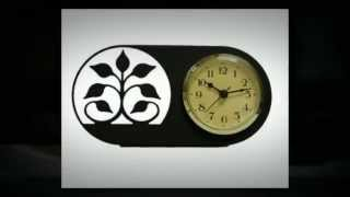 Wrought Iron Haven Decorative Wall Clocks, Business Card Holders & Bookends