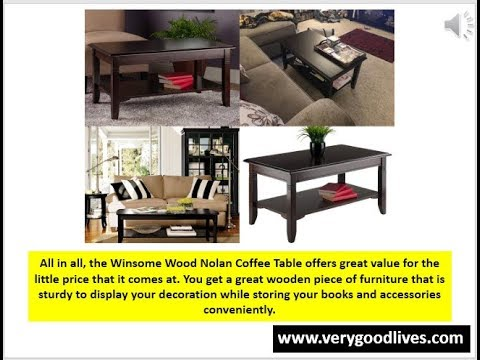 Winsome Wood Nolan Small Coffee Table Review