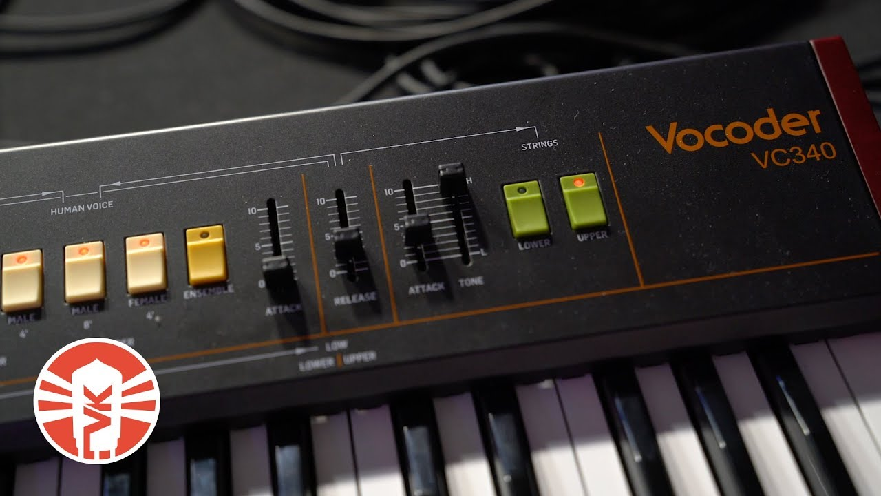 Behringer VC340 Analog Vocoder, Human Voice and String Synthesizer