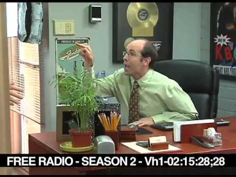 Brian Huskey Bales out on Free Radio set