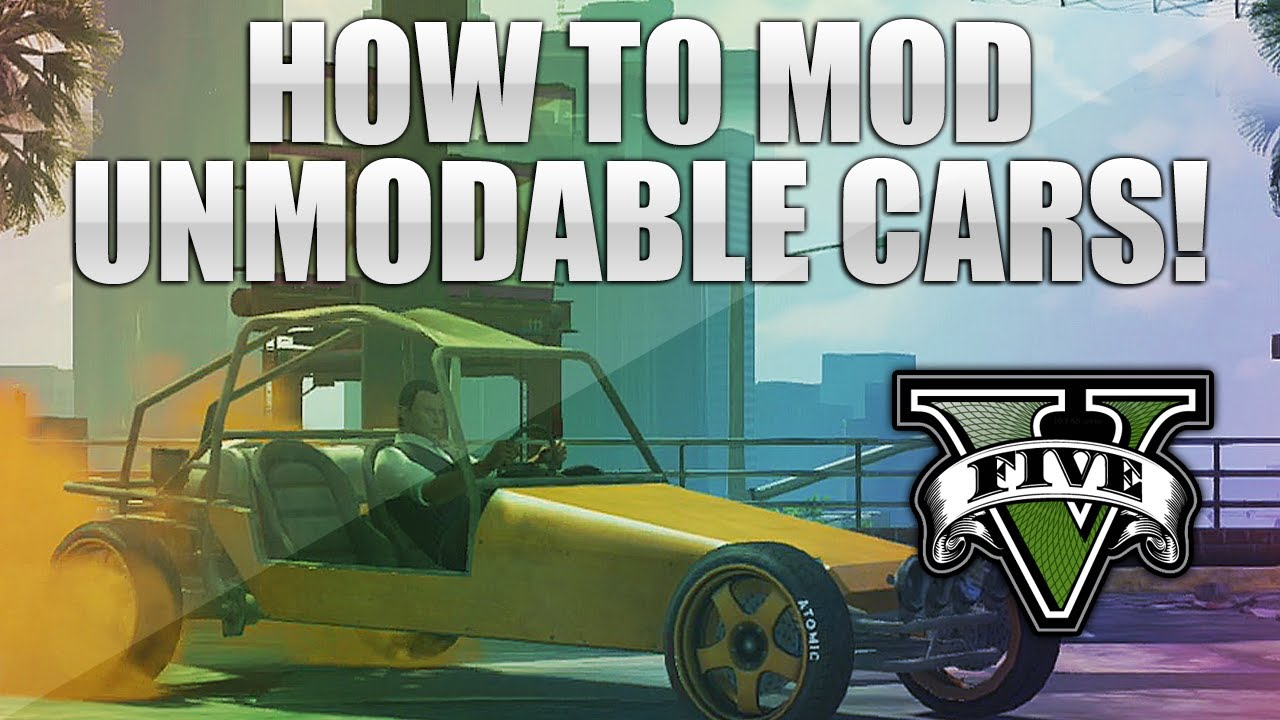 NEW* GTA 5 Online- How to Fully Modify ANY Unmoddable Car! - YouTube