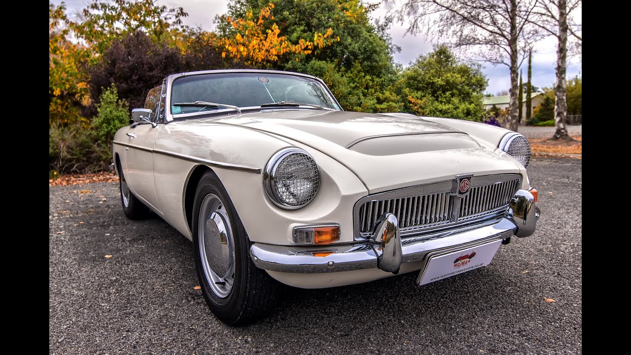 Mgc Roadster Waimak Classic Cars New Zealand Youtube