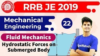 6:00 AM - RRB JE 2019 | Mechanical Engg by Neeraj Sir | Hydrostatic Forces on Submerged Body