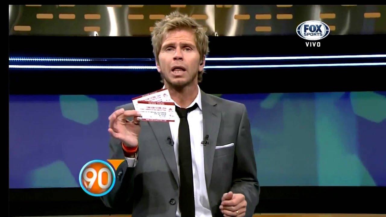 "90 Minutos De Futbol En Vivo Por Internet conexión fútbol promo ""90 minutos"" 2014"