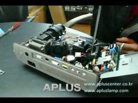 how to repair a mitsubishi projector youtube rh youtube com Mitsubishi Projector Lamps Mitsubishi M1ky LCD Projector