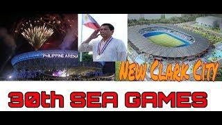NEW CLARK CITY STADIUM: 30th Sea Games