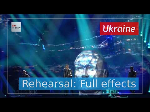 O.Torvald - Time - Ukraine - Second Rehearsal: Full Effects - Eurovision Song Contest 2017 (4K)
