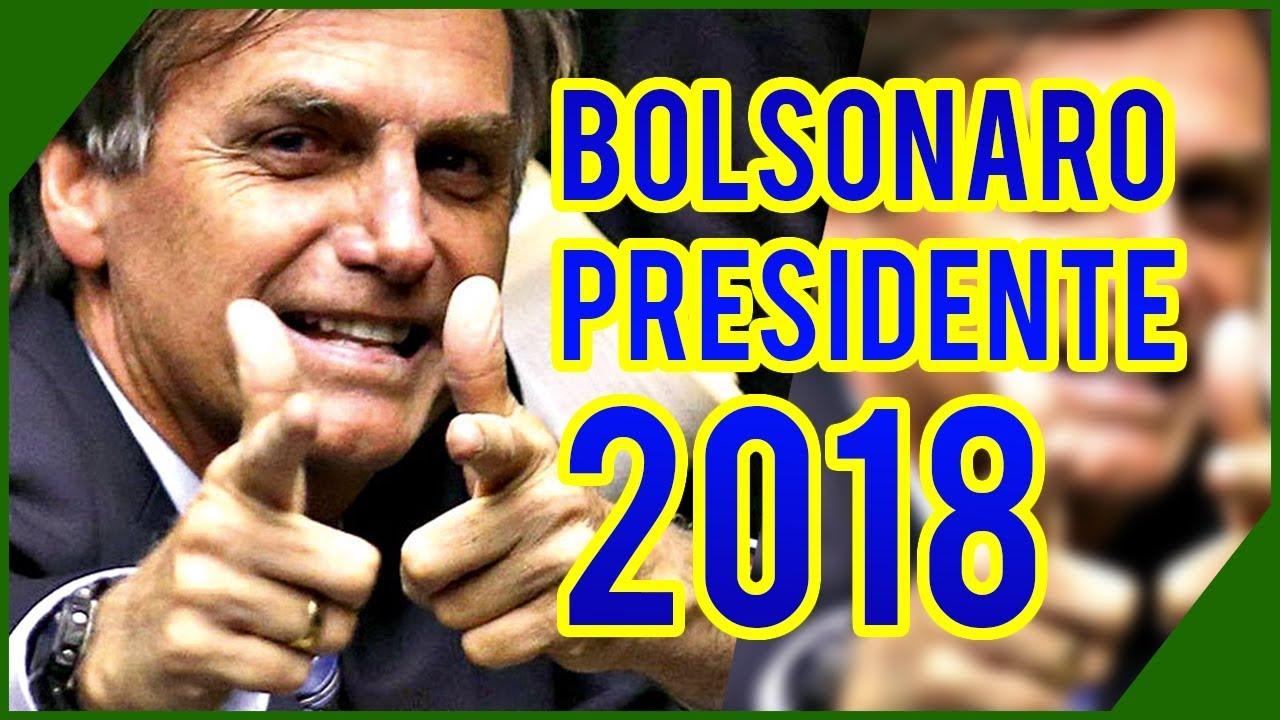 Resultado de imagem para bolsonaro presidente 2018