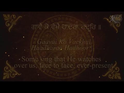 Pehli Panj Pauria Japji Sahib First Five-Bhai Gurpreet Singh Shimla Wale- For children