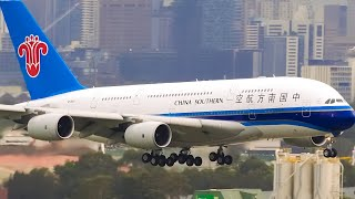 HEAVY Aircraft Landings CLOSE UP | Sydney Airport Plane Spotting