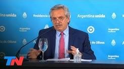El mensaje de Alberto Fernández a un mes del inicio de la cuarentena en el país